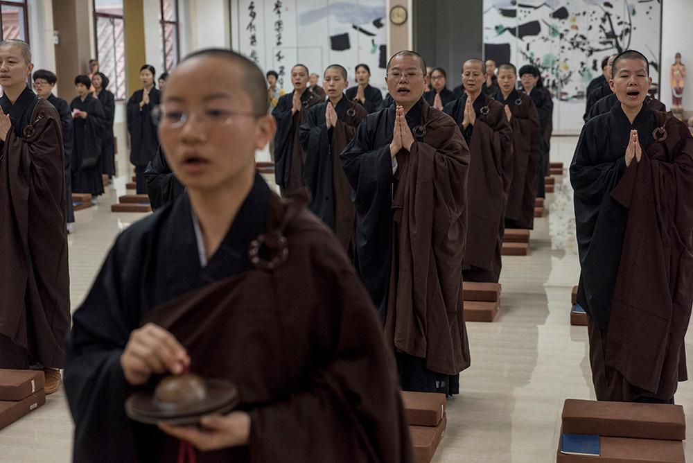 Temple of the Great Awakening in Yixing, China, 2017.