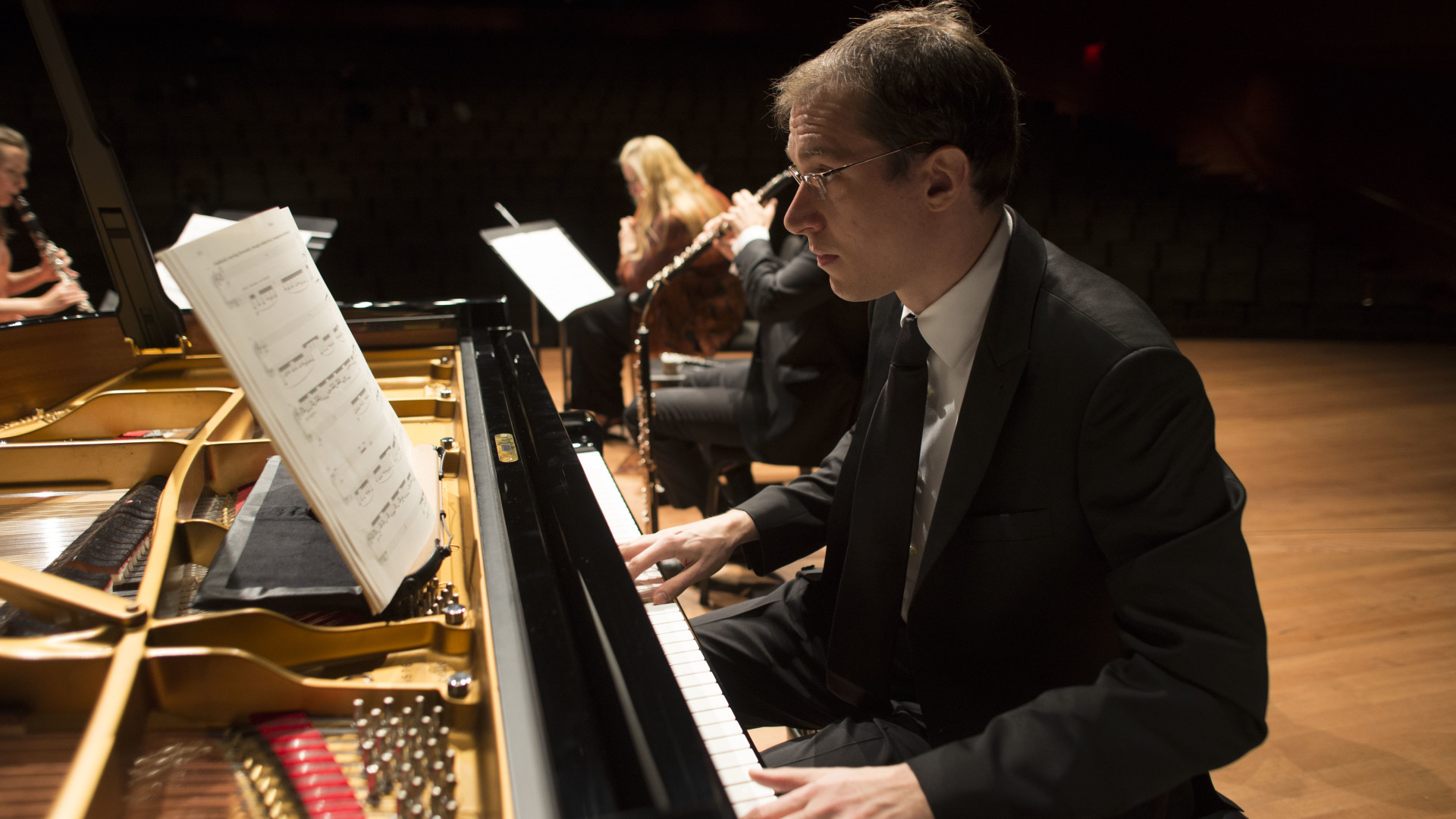New Music, at Lincoln Center; Gilles Vonsattel, Piano