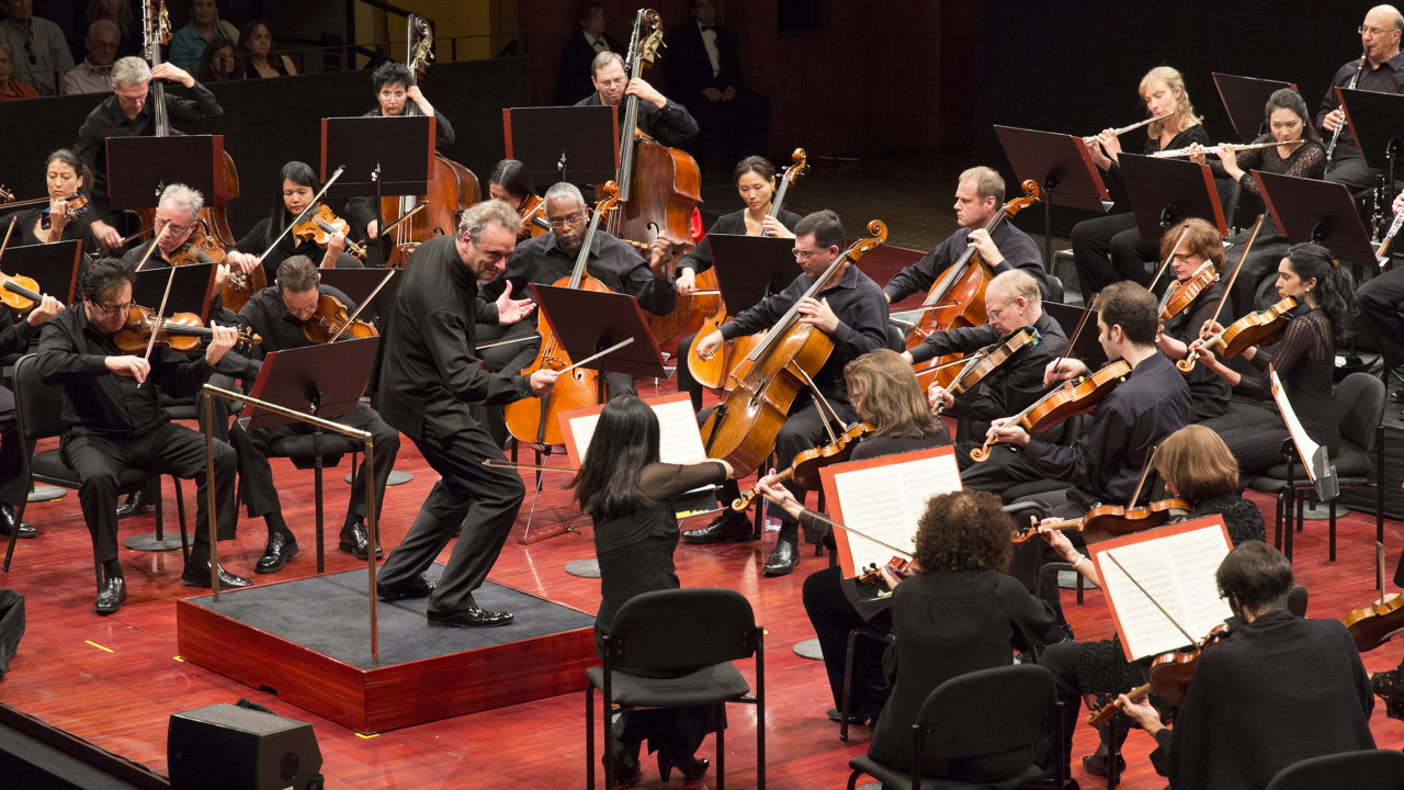 Louis Langrée and the Mostly Mozart Festival Orchestra