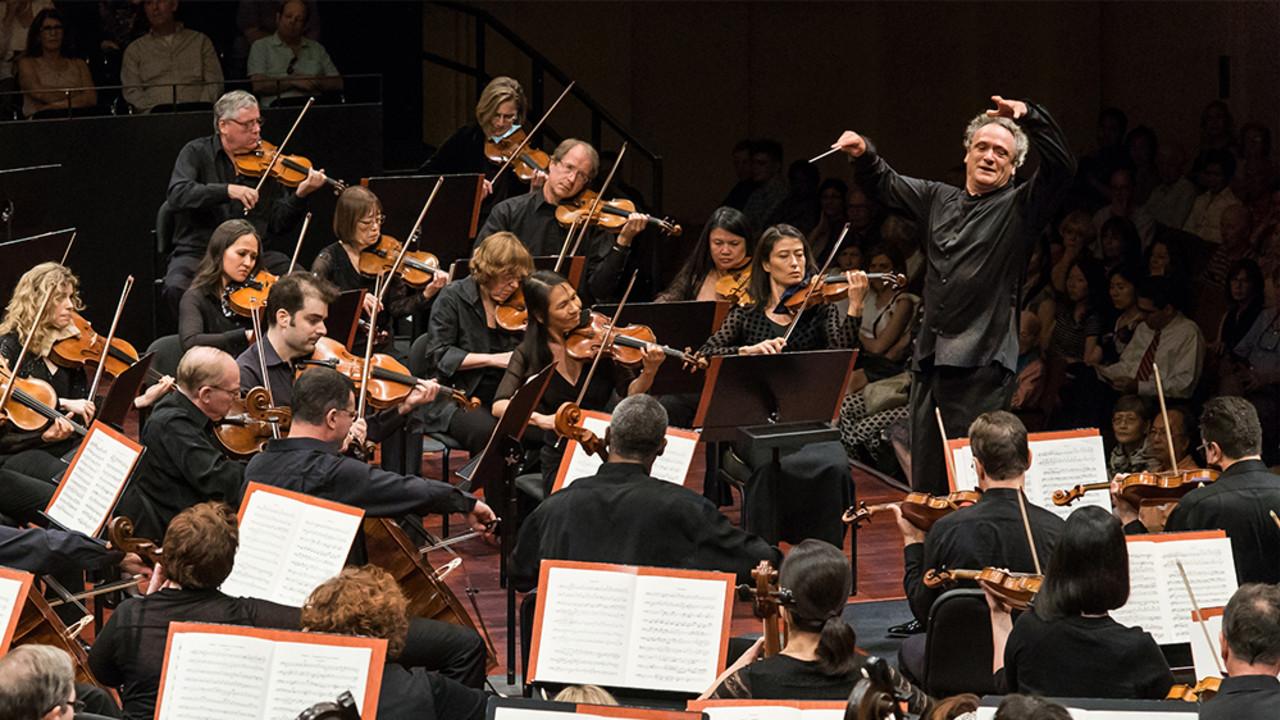 Mostly Mozart Festival Orchestra, Louis Langrée