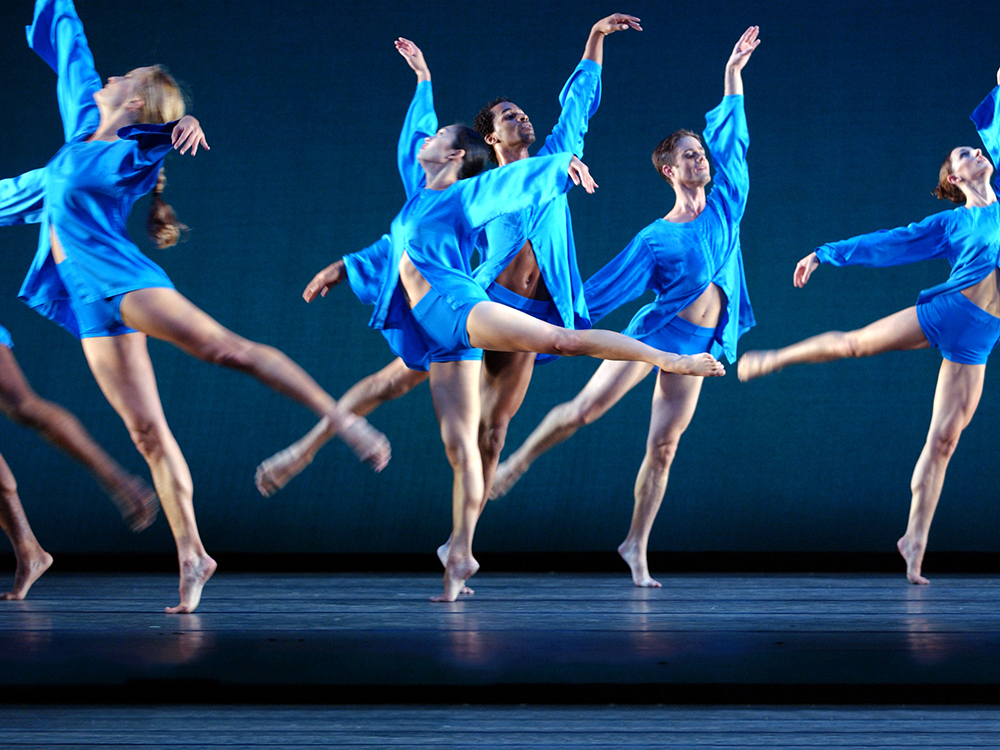 Mark Morris Dance Group performs V